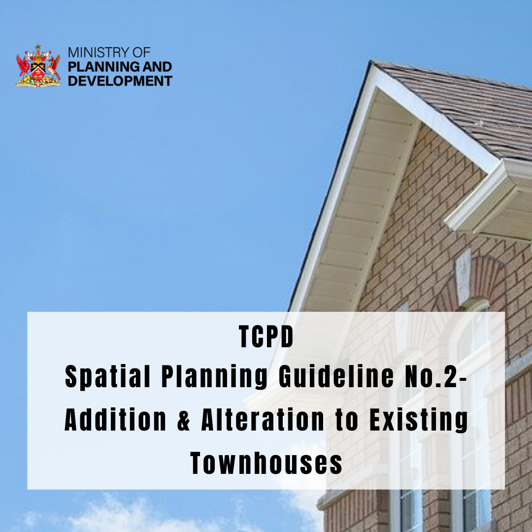 Get in the know; Read up on TCPD's Spatial Planning Guideline No.2 – Addition & Alteration to Existing Townhouses