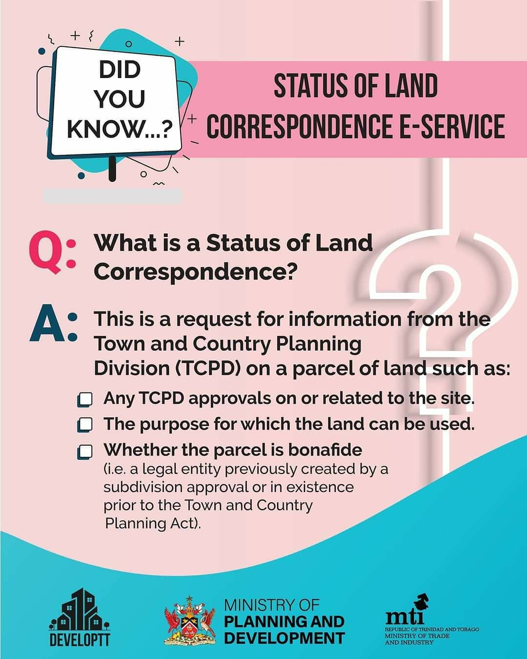FAQs Time; All you need to know about TCPD's Stamp Duty Exemption Correspondence and Status of Land Correspondence E-services!